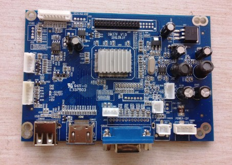 车载LCD液晶驱动板克隆案例